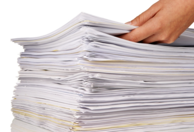 Stack-of-documents